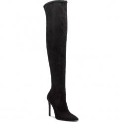 Muszkieterki EVA MINGE - Badain 4H 18GR1372669EF  601. Czarne buty zimowe damskie marki Eva Minge, z materiału, na obcasie. W wyprzedaży za 439,00 zł.