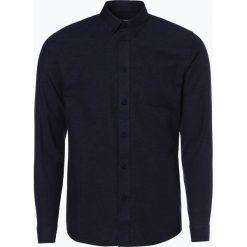Minimum - Koszula męska – Jay 2.0, niebieski. Niebieskie koszule męskie jeansowe marki Minimum, l. Za 249,95 zł.