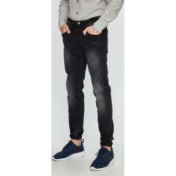 Blend - Jeansy Twister. Brązowe jeansy męskie slim marki Blend, l, z bawełny, bez kaptura. W wyprzedaży za 149,90 zł.
