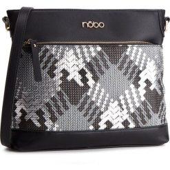 Torebka NOBO - NBAG-F0150-C020 Czarny. Czarne listonoszki damskie Nobo, ze skóry ekologicznej. W wyprzedaży za 129,00 zł.