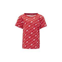 T-shirty z krótkim rękawem Dziecko  adidas  Koszulka Trefoil Monogram. Czerwone bluzki dziewczęce z krótkim rękawem marki Adidas. Za 89,95 zł.