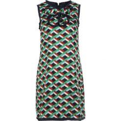 J.CREW MIRAGE  Sukienka koktajlowa green brown. Brązowe sukienki koktajlowe marki J.CREW, z jedwabiu. W wyprzedaży za 526,05 zł.