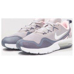 Nike Performance AIR MAX FURY Obuwie do biegania treningowe atmosphere grey/white/arctic punch/light carbon/metallic silver. Czarne buty sportowe chłopięce marki Nike Performance, z materiału, na golfa. W wyprzedaży za 251,30 zł.