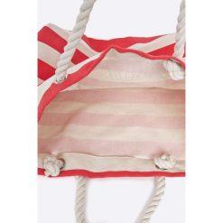 Only - Torebka. Szare torebki klasyczne damskie ONLY, z bawełny, duże. W wyprzedaży za 69,90 zł.