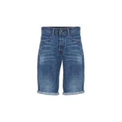 Szorty i Bermudy  G-Star Raw  3302 TAPERED 1/2. Niebieskie bermudy męskie marki Adidas, m. Za 351,20 zł.