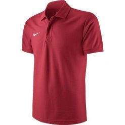 Koszulki polo: Nike Koszulka męska Core Polo czerwona r. M (454800 657)
