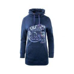 IGUANA Bluza Damska Monifa Navy Melange r. XL. Czarne bluzy sportowe damskie marki DOMYOS, z elastanu. Za 169,99 zł.