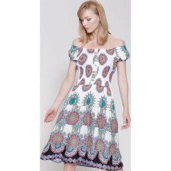Sukienki: Biała Sukienka Dance With Me