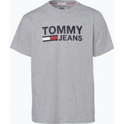 T-shirty męskie z nadrukiem: Tommy Jeans - T-shirt męski, szary