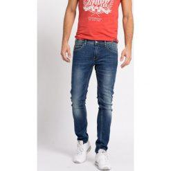 Blend - Jeansy. Brązowe jeansy męskie skinny marki Blend, l, z bawełny, bez kaptura. W wyprzedaży za 179,90 zł.