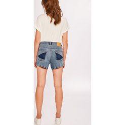 Noisy May - Szorty Liv. Szare szorty jeansowe damskie marki Noisy May, casualowe, z podwyższonym stanem. W wyprzedaży za 79,90 zł.