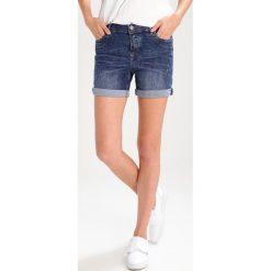Bermudy damskie: TOM TAILOR DENIM CAJSA Szorty jeansowe mid stone wash denim
