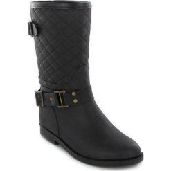 """Buty damskie: Kalosze """"Matty"""" w kolorze czarnym"""