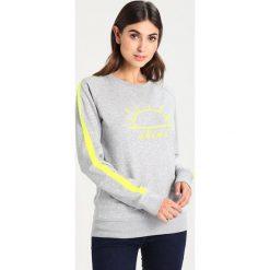 Bluzy rozpinane damskie: Amorph Berlin PRINT SHINE STRIPES Bluza grey/yellow