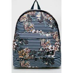Roxy - Plecak. Szare plecaki damskie Roxy, z materiału. W wyprzedaży za 149,90 zł.