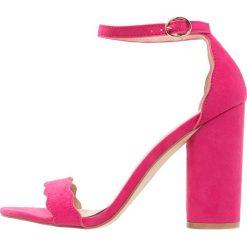 Sandały damskie: Miss Selfridge COPENHAGEN Sandały na obcasie pink