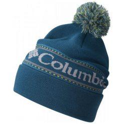 Columbia Czapka Csc Logo Beanie Deep Water Os. Szare czapki zimowe męskie Columbia, na zimę, eleganckie. W wyprzedaży za 75,00 zł.