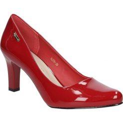 Czółenka na słupku Sergio Leone 1459. Czarne buty ślubne damskie marki Sergio Leone. Za 95,99 zł.