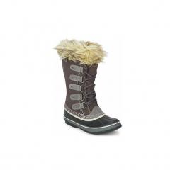 Śniegowce Sorel  JOAN OF ARTIC. Szare buty zimowe damskie Sorel. Za 552,30 zł.
