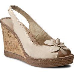 Rzymianki damskie: Sandały FREE SOFT – Dalila 3355 Beige