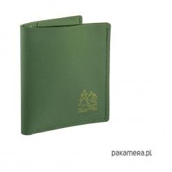 Super cienki portfel z gumy Hypalon - oliwkowy. Zielone portfele damskie marki Pakamera. Za 89,00 zł.