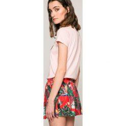 Femi Pleasure - Spódnica RAIN. Szare minispódniczki marki Femi Stories, l, z bawełny, rozkloszowane. W wyprzedaży za 149,90 zł.