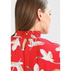 Bluzki asymetryczne: b.young FERIAN BLOUSE Bluzka red