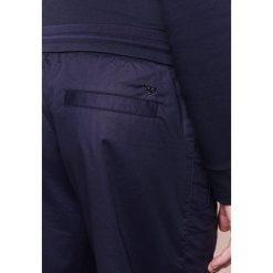Spodnie męskie: Emporio Armani Spodnie materiałowe blue