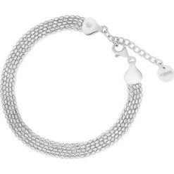 Bransoletki damskie na nogę: Unikalna Srebrna Bransoletka - srebro 925