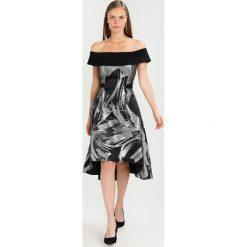 Coast ECHO MIDI DRESS Sukienka koktajlowa mono. Czarne sukienki koktajlowe Coast, z materiału, midi. W wyprzedaży za 524,50 zł.