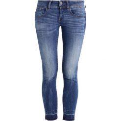GStar LYNN MID SKINNY RP ANKLE  Jeans Skinny Fit elto superstretch. Niebieskie boyfriendy damskie G-Star. W wyprzedaży za 363,35 zł.