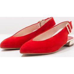 Baleriny damskie lakierowane: Maripé Baleriny rosso