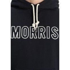Morris BAXTER HOOD Bluza z kapturem old blue. Niebieskie bluzy męskie rozpinane Morris, m, z bawełny, z kapturem. W wyprzedaży za 408,85 zł.