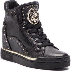 Sneakersy GUESS - FL5FR2 LEA12 BLACK. Niebieskie sneakersy damskie marki Guess, z materiału. Za 719,00 zł.