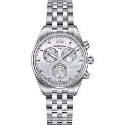 PROMOCJA ZEGAREK CERTINA DS 8 C033.234.11.118.00. Białe zegarki damskie CERTINA, szklane. W wyprzedaży za 2015,20 zł.