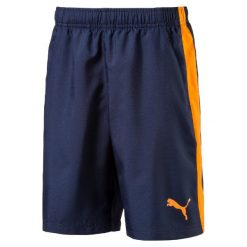 Spodenki sportowe męskie: Puma Spodenki Active Ess Woven Shorts Peacoat 140