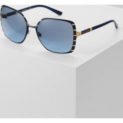 Tory Burch Okulary przeciwsłoneczne blue. Niebieskie okulary przeciwsłoneczne damskie aviatory Tory Burch. Za 839,00 zł.