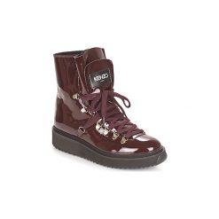 Śniegowce Kenzo  ALASKA. Czarne buty zimowe damskie marki Kenzo. Za 1299,00 zł.
