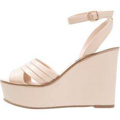 Sandały damskie: Miss Selfridge MONA Sandały na obcasie taupe/beige