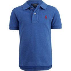 Polo Ralph Lauren CUSTOM TOPS Koszulka polo dockside blue heather. Niebieskie t-shirty chłopięce Polo Ralph Lauren, z bawełny. Za 169,00 zł.