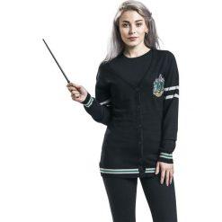 Kardigany damskie: Harry Potter Slytherin Kardigan damski czarny