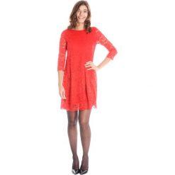 Sukienki: Sukienka - 90-328 ROSSO