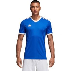 Koszulki sportowe męskie: Adidas Koszulka męska tabela 18 JSY niebieska r. S (CE8936)