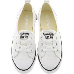 Converse - Tenisówki Chuck T All Star Ballet Lace. Białe tenisówki damskie marki Converse, z materiału. W wyprzedaży za 199,90 zł.