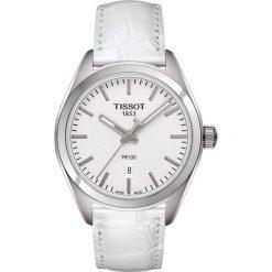 PROMOCJA ZEGAREK TISSOT T - CLASSIC. Szare zegarki męskie TISSOT, ze stali. W wyprzedaży za 1390,40 zł.