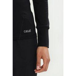 Bluzki damskie: Casall ESSENTIAL LONG SLEEVE Bluzka z długim rękawem black