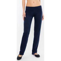 Damskie spodnie dresowe MF Blue. Niebieskie bryczesy damskie Astratex, z dresówki. Za 80,99 zł.