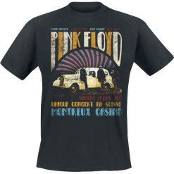 T-shirty męskie: Pink Floyd Montreux Casino T-Shirt czarny
