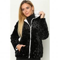 Biało-Czarna Kurtka Two-Sided. Brązowe kurtki damskie pikowane marki QUECHUA, na zimę, m, z materiału. Za 129,99 zł.