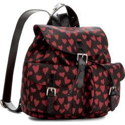 Plecaki damskie: Plecak RED VALENTINO – NQ2B0719 St Cuori/Nero C1N